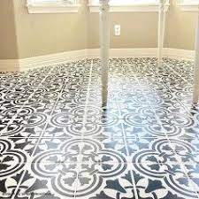 floor tile tile stencils stencil your old tile floor with beautiful tile