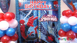 party city men halloween costumes it u0027s a spidey party youtube