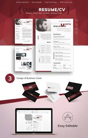 Web Designer Resume Sample Martin Williams Photographer U0026 Web Designer Resume Template 65617