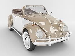 volkswagen classic beetle 3d volkswagen beetle convertible cgtrader
