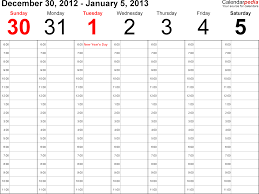 printable calendar 2016 time and date time and date weekly calendar print calendar