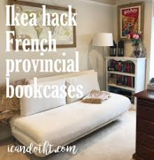Provincial Bookcase French Provincial Bookcases U2013 Ikea Hack U2013 I Can Do That