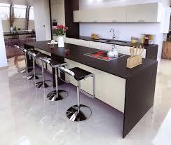 creer une cuisine prolonger légèrement votre plan de travail pour créer un espace bar