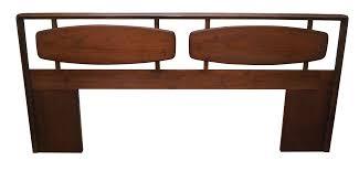 lane mid century modern coffee table lane mid century modern walnut king size headboard chairish
