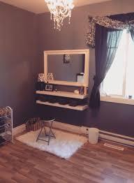 Diy Vanity Desk Decor Penteadeiras Improvisadas Daughters Room Fall Flats And