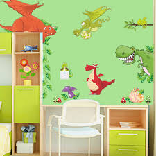 popular kids vinyl wall stickers buy cheap new arrival animals dinosaur dragon vinyl wall sticker decals kids nursery room decor asd