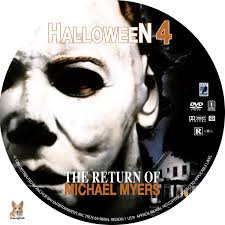 halloween 4 the return of michael myers dvd label 1988 r1 custom