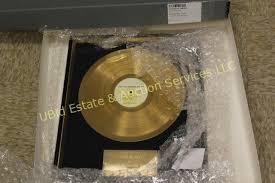 gold photo album gold album put the hammer