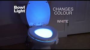 toilet bowl light heymate motion activated toilet nightlight 8