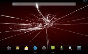 cracked screen live wallpaper android apps on google play
