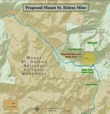 Washington Zoo Map by Stop The Mount St Helens Mine And Learn About The Environmental