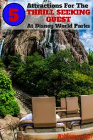 Seeking Guest Attractions At Disney World Parks For The Thrill Seeking Guest