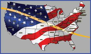 america map for eclipse navigation system 2017 solar eclipse american eclipse american paper optics llc