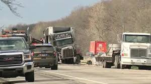 lexus truck commercial 68 year old ohio woman killed when semi truck payload crushes