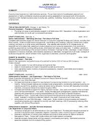 Personal Assistant Sample Resume by Laura Wells Resume 2013 Corporate