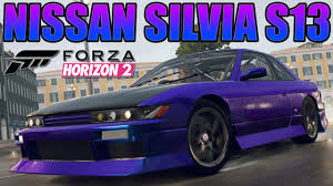 custom nissan silvia forza horizon 2 custom cars 1 nissan silvia s13 club k u0027s