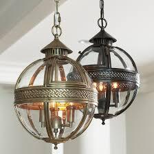 Glass Orb Pendant Light Halden Glass Orb Pendant Light Ballard Designs