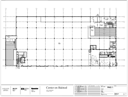 center on halsted first floor plan