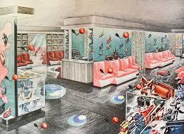 1940s interior design 1940s interior design 1940s shoe store modern color flooring