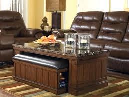 Coffee Table Ottoman Combo Coffee Table With Ottoman Sgmun Club
