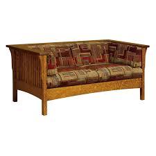 Mission Style Loveseat Amish Sofas U0026 Loveseats Amish Furniture Shipshewana Furniture Co