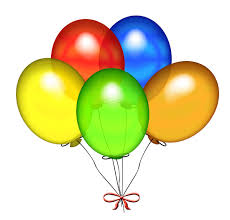 birthday balloons birthday cake and balloons clipart 2 clipartix