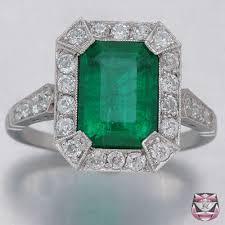 trendy diamond rings art deco emerald buy me diamond home of