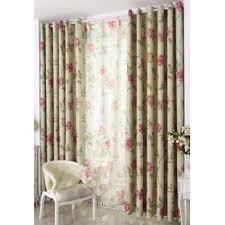 Retro Floral Curtains Vintage Floral Curtains Wayfair
