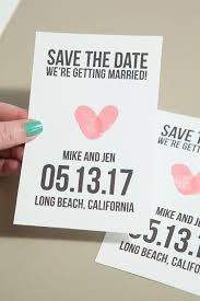 save the date ideas diy make your own save the date cards mes specialist