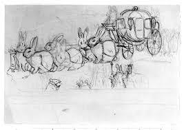 Cinderella S Coach Cinderella U0027s Coach Drawn By Three Pairs Of Rabbits Potter
