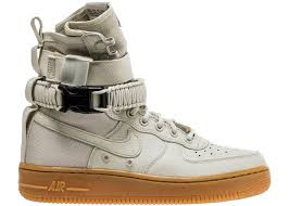 Nike Light Nike Sf Air Force 1 High Light Bone W