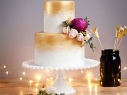 wedding cake gold gorgeous gold wedding cakes