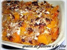 cuisiner le potimarron au four gratin de potiron et feta recette crétoise recette ptitchef