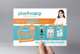 pharmacy brochure template free pharmacy flyer template v2 brandpacks