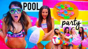 summer pool party diy decor treats ideas things to do niki