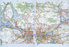 map of areas and surrounding areas maps of glasgow detailed map of glasgow in maps of
