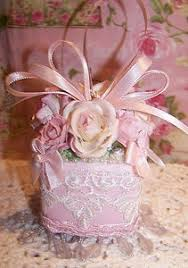 40 best shabby chic christmas ornaments images on pinterest