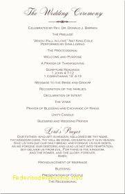 wedding ceremony programs template exclusive christian wedding ceremony program template free