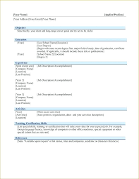 exle resume formats excel experience resume format word skills based excel templates for