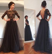 Black Homecoming Dresses With Sleeves Black Prom Dresses 2017 U2013 Choose The Length Wisely Lustyfashion