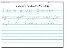 handwriting worksheets for 3rd grade free worksheets library