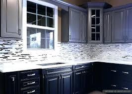 backsplash for dark cabinets and dark countertops black cabinets white countertops kitchen black cabinets unique decor
