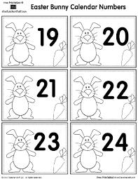 easter stuff easter bunny calendar printables a to z stuff printable