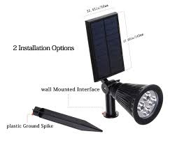 solar wall mounted lights 2 pack solar led lights 2 pack 3rd generation siensync tm 2 in 1