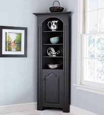 Black Storage Cabinet Storage Cabinets Ideas Corner China Cabinet Black Beautifying