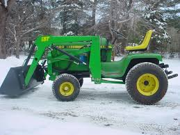 what is the best john deere 420 loader