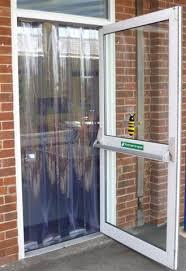 pvc door curtain schools and nurseries doortechdoortech