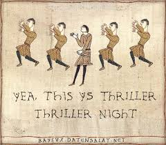 Bayeux Tapestry Meme - medieval macros bayeux tapestry parodies thrillers tapestry