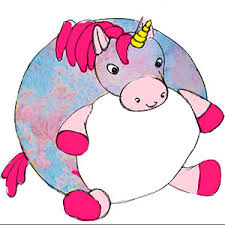 squishable prism unicorn adorable fuzzy plush snurfle