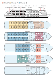 Cruise Ship Floor Plans by Ms Omar El Khayam Cruise Ship Charter River Ship